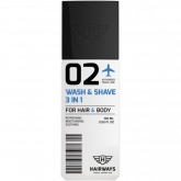 Wash & Shave 3 in 1